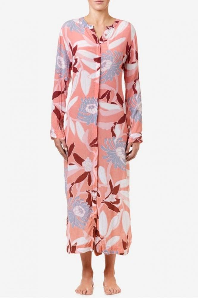 One Season India Dress in Flamingo