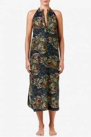 Jacqui Cotton Dress in Congo