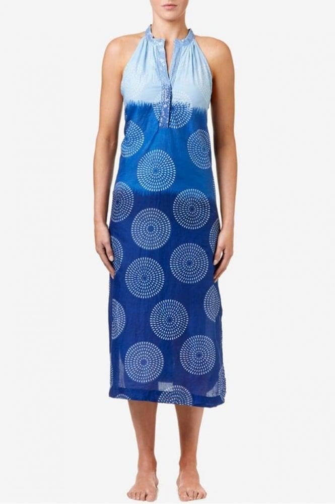 One Season Jacqui Cotton Dress in Royal