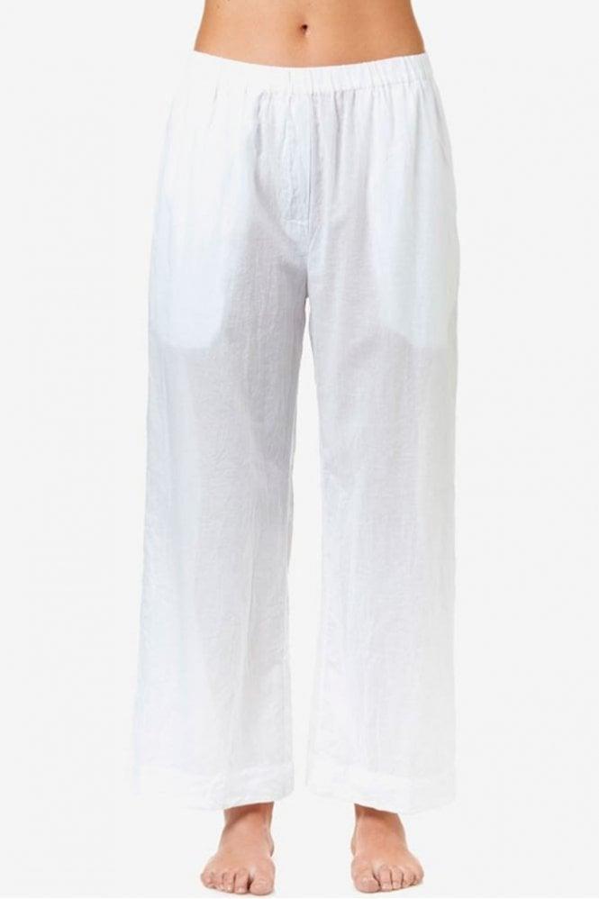 One Season Madi Cotton Pant in White