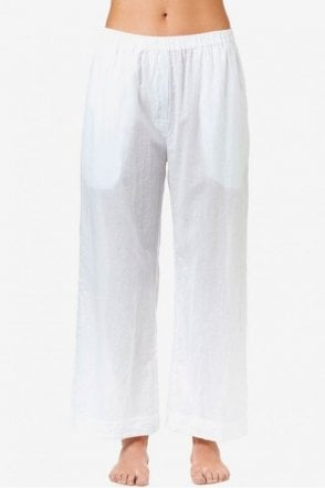 Madi Cotton Pant in White