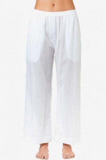 Madi Cotton Pant in White