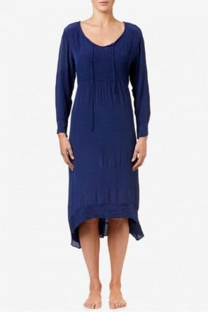 Marilyn Dress in Indigo