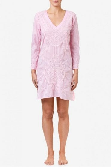 Middy Goa Cotton Dress in Pink