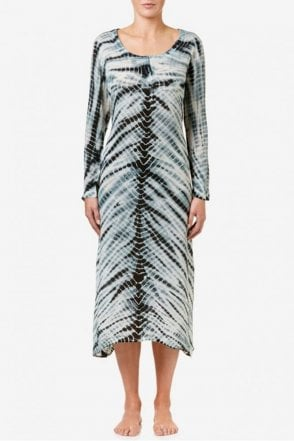 Negin Dress in Charcoal/Black