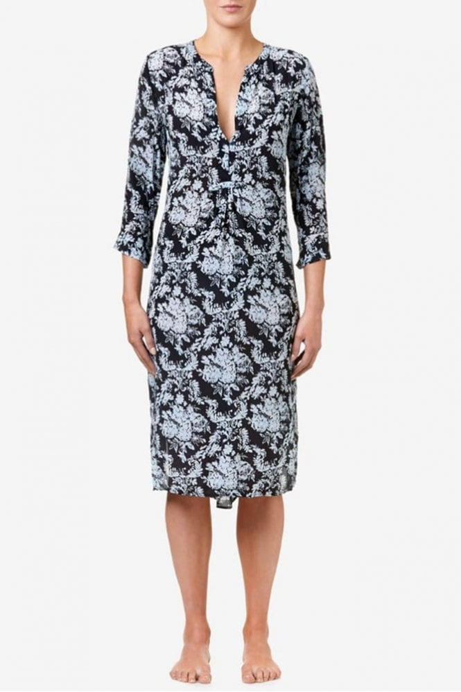 One Season Papy Dress in Midnight Flower