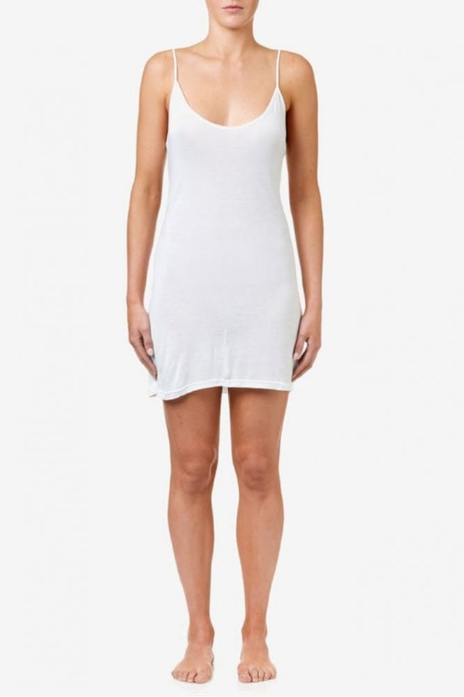 One Season Slip Dress in White
