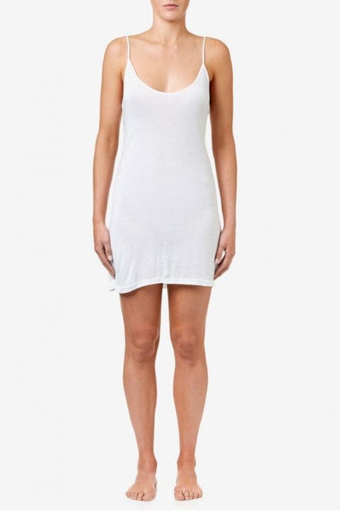 One Season Slip Dress in White