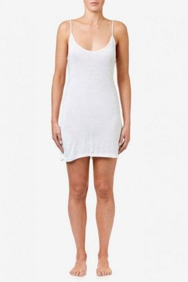 Slip Dress in White