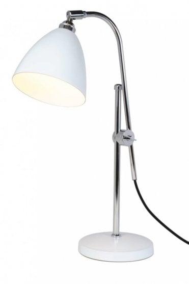 Task Table Lamp in White