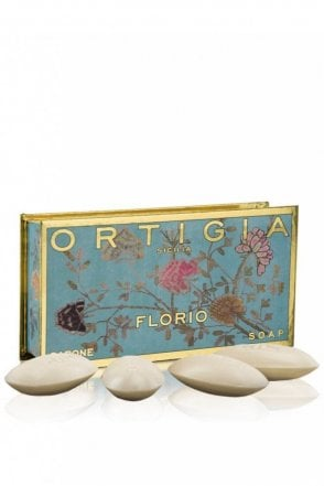 Florio Set of 4 Olive Oil Soap Small Box