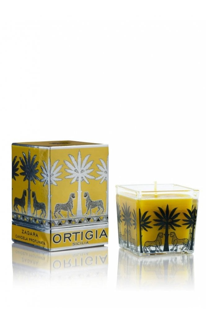 Ortigia Orange Blossom Large Square Candle