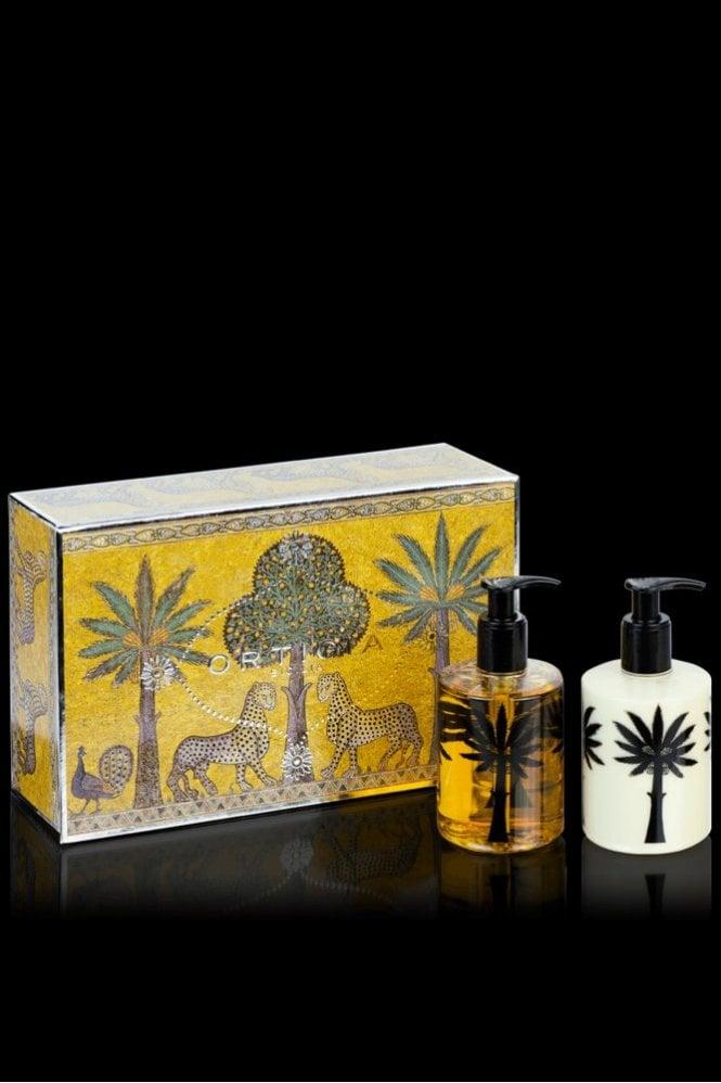 Ortigia Orange Blossom Liquid Soap & Body Cream Box