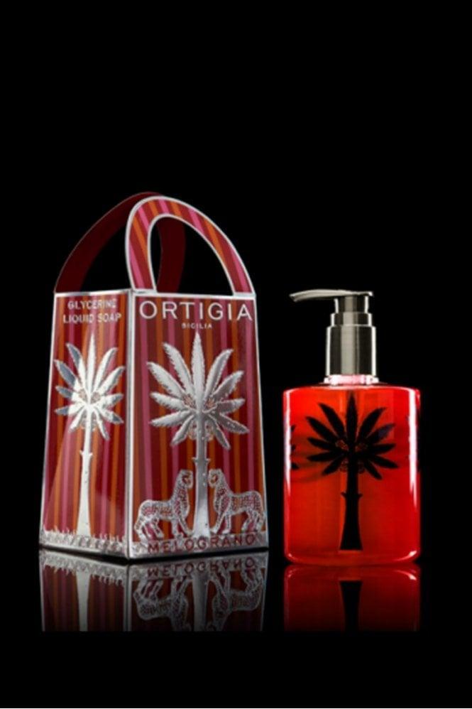Ortigia Pomegranate Liquid Soap 300ml