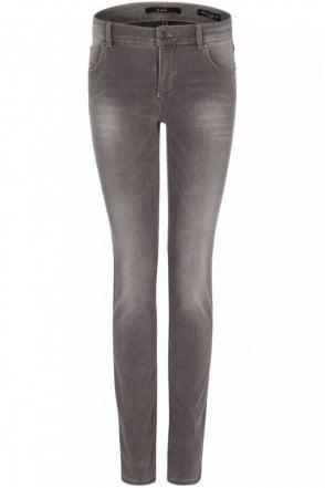 Sienna Slim Fit Power Stretch Denim Jegging in Grey
