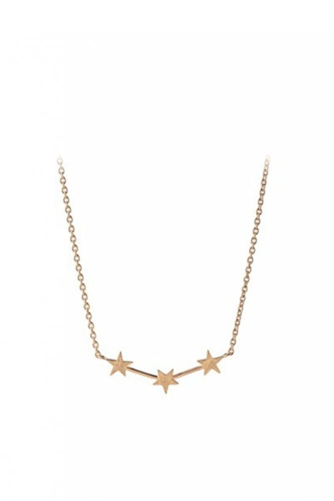 Pernille Corydon Alpha Necklace in Gold