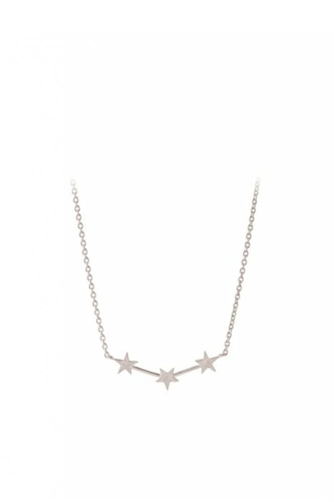 Pernille Corydon Alpha Necklace in Silver