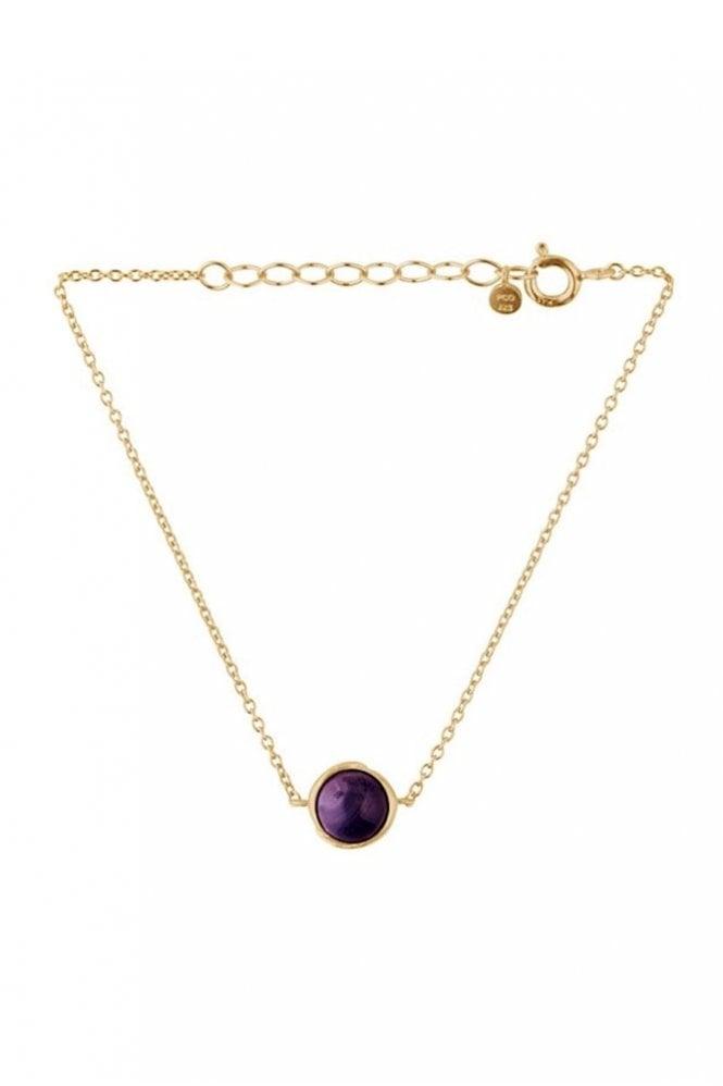 Pernille Corydon Aura Amethyst Bracelet in Gold