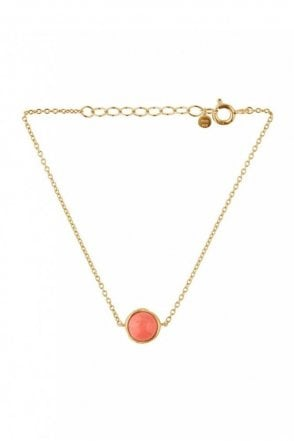 Aura Coral Bracelet in Gold