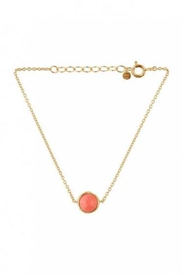 Aura Coral Bracelet in Gold