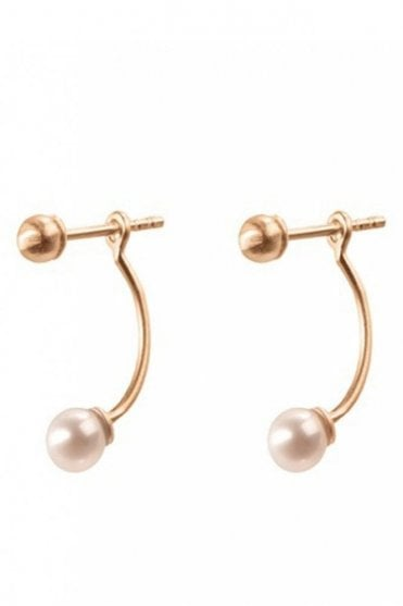 Behind Pearl Earrings