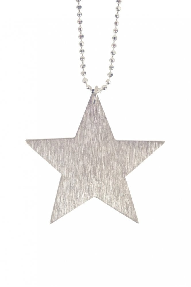 Pernille Corydon Big Star Necklace in Silver