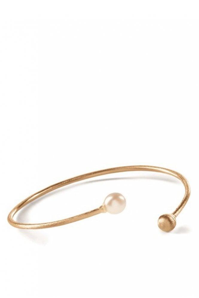 Pernille Corydon Freshwater Pearl Bracelet in Gold