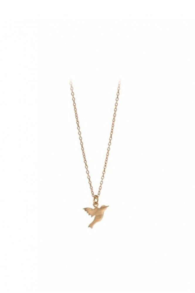 Pernille Corydon Hummingbird Necklace in Gold