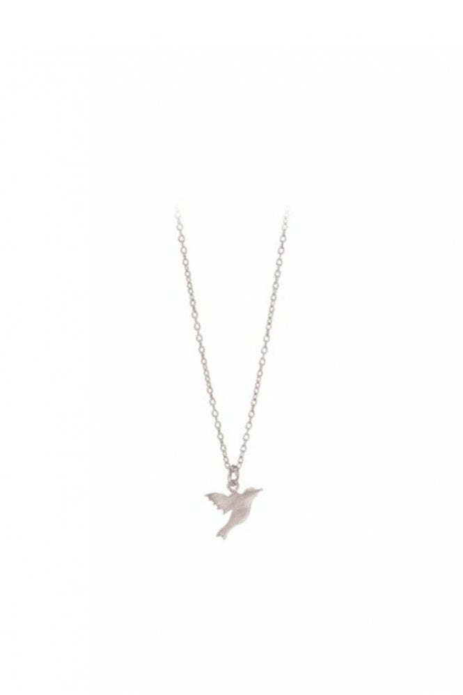 Pernille Corydon Hummingbird Necklace in Silver