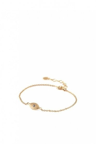 Lucky Eye Bracelet in Gold