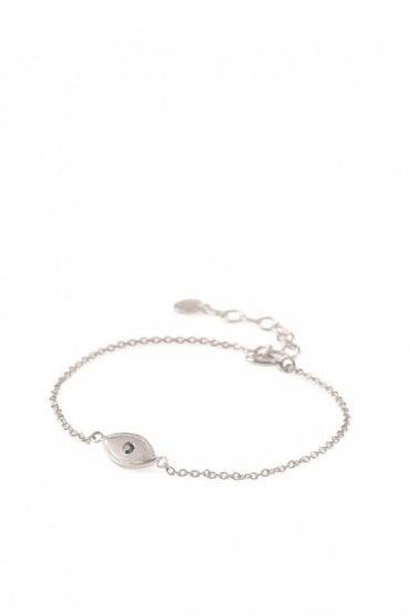 Lucky Eye Bracelet in Silver