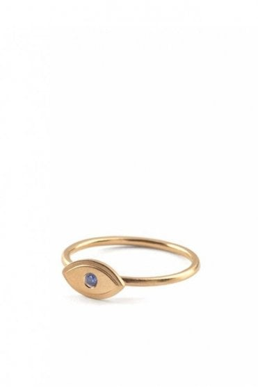 Lucky Eye Ring in Gold