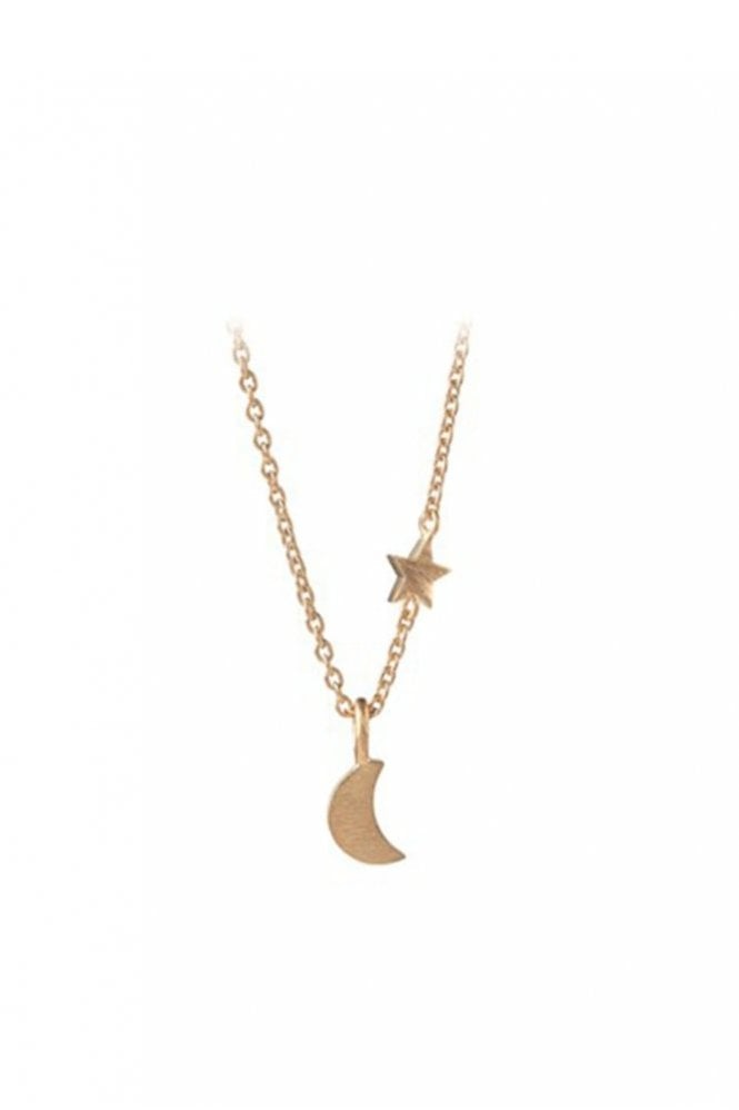 Pernille Corydon Luna Star Necklace in Gold