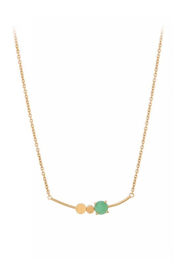 Pernille Corydon Moss Necklace in Gold
