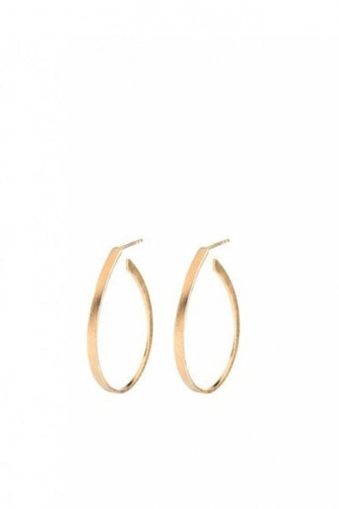Oval Creol in Gold