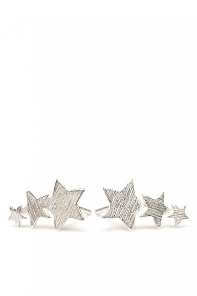 Pernille Corydon Shooting Stars Earrings in Silver