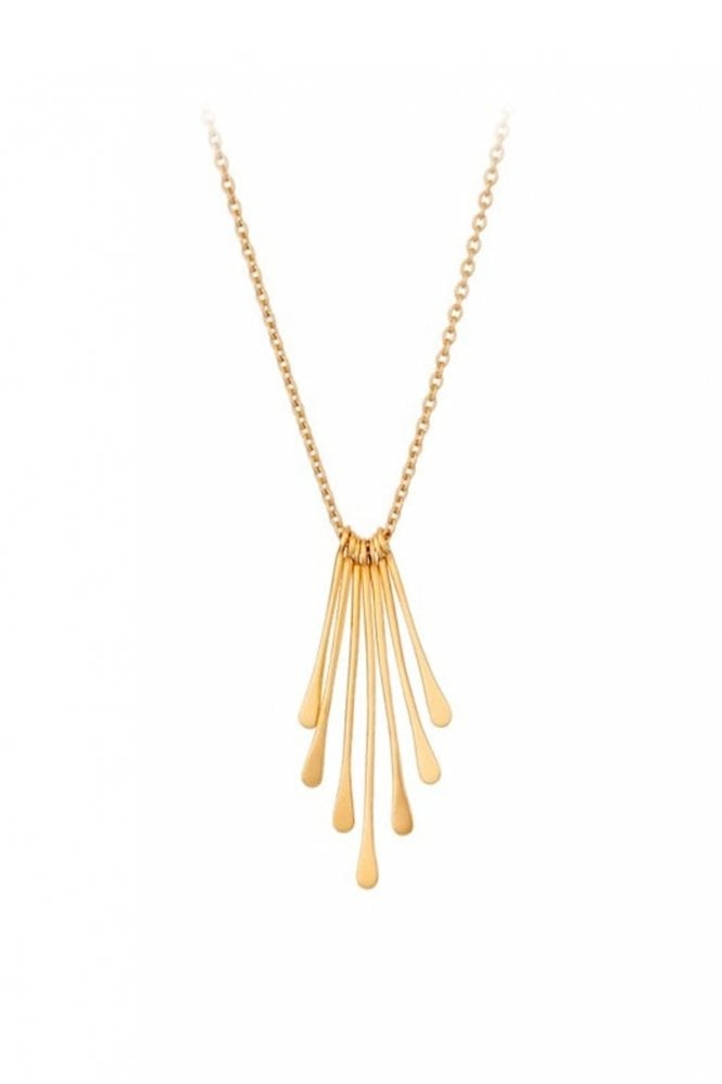 Pernille Corydon Waterfall Necklace in Gold