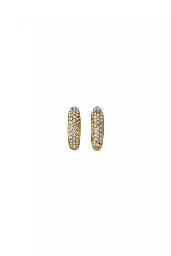 Pilgrim Adey Gold Plated Crystal Earrings