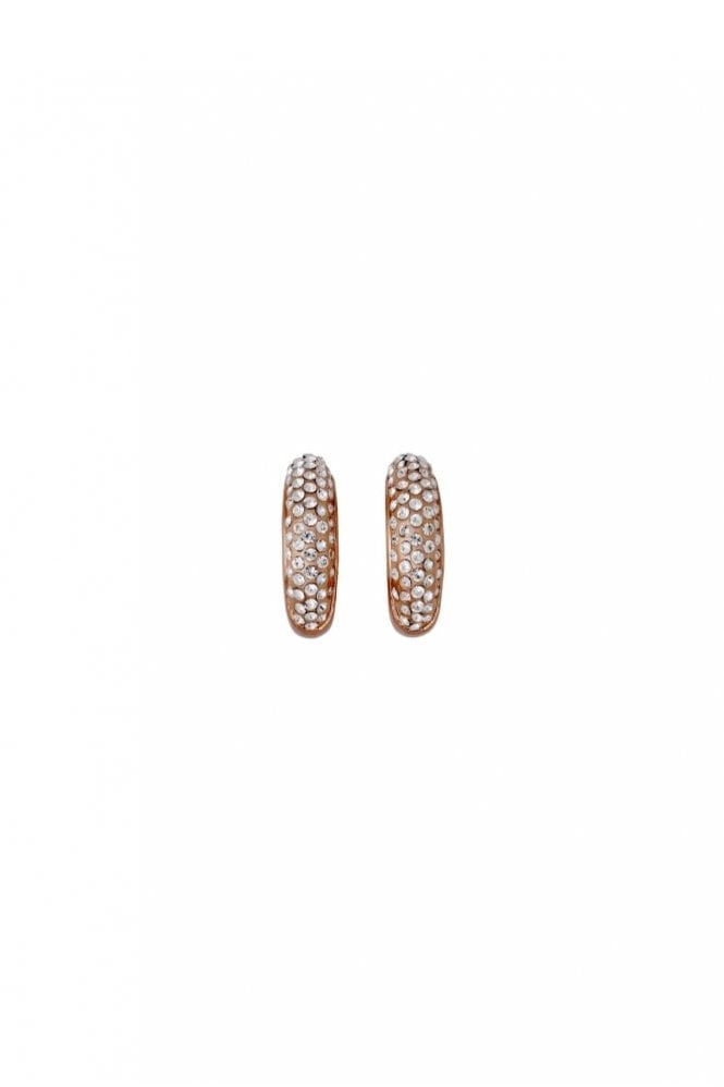 Pilgrim Adey Rose Gold Plated Crystal Earrings
