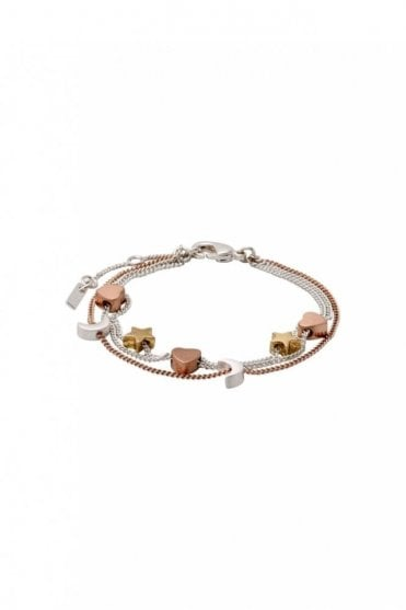 Anna Mixed Metal Plated Bracelet