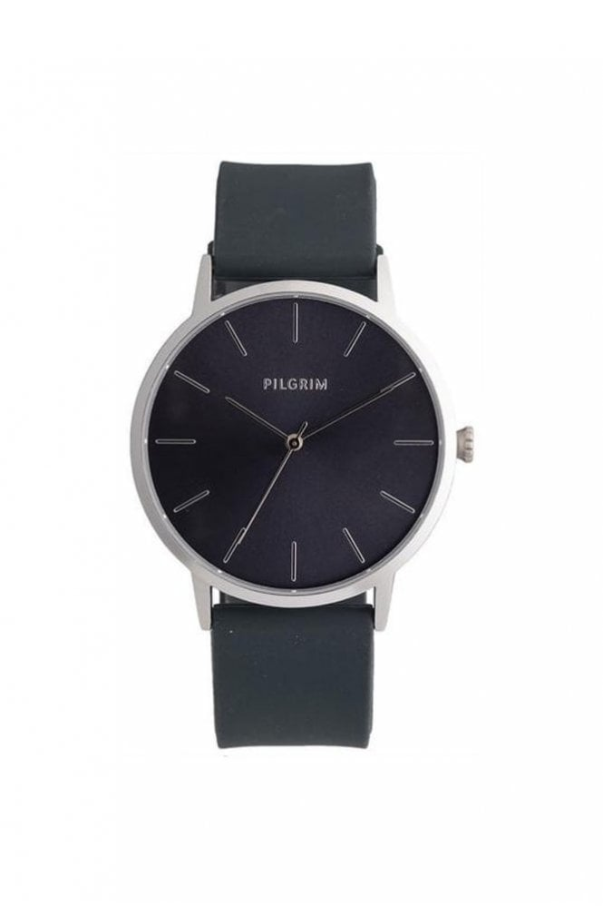Pilgrim Aurelia Silver Plated Watch in Blue