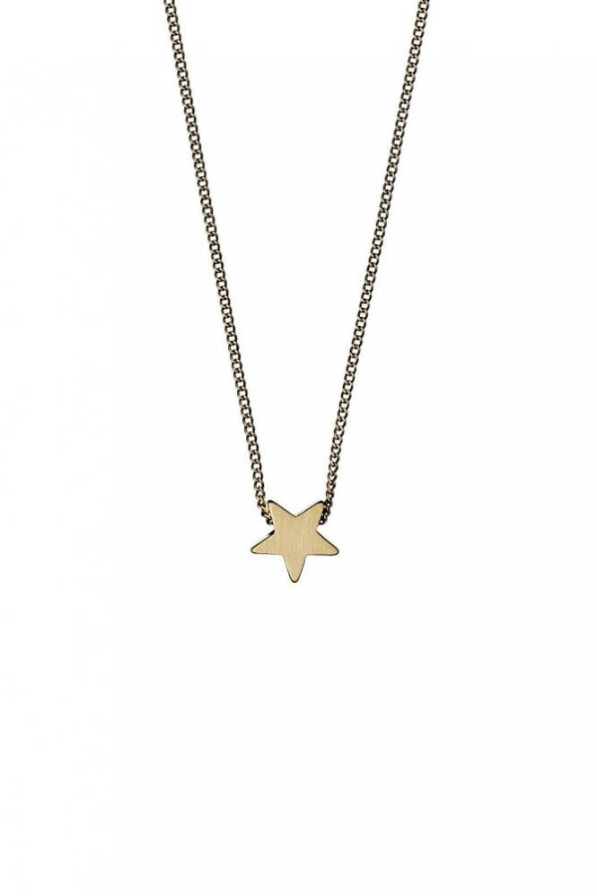 Pilgrim Ava Gold Plated Star Necklace