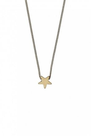 Ava Gold Plated Star Necklace
