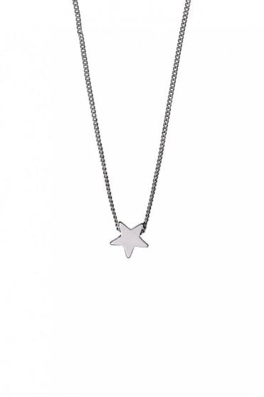 Ava Silver Plated Star Necklace