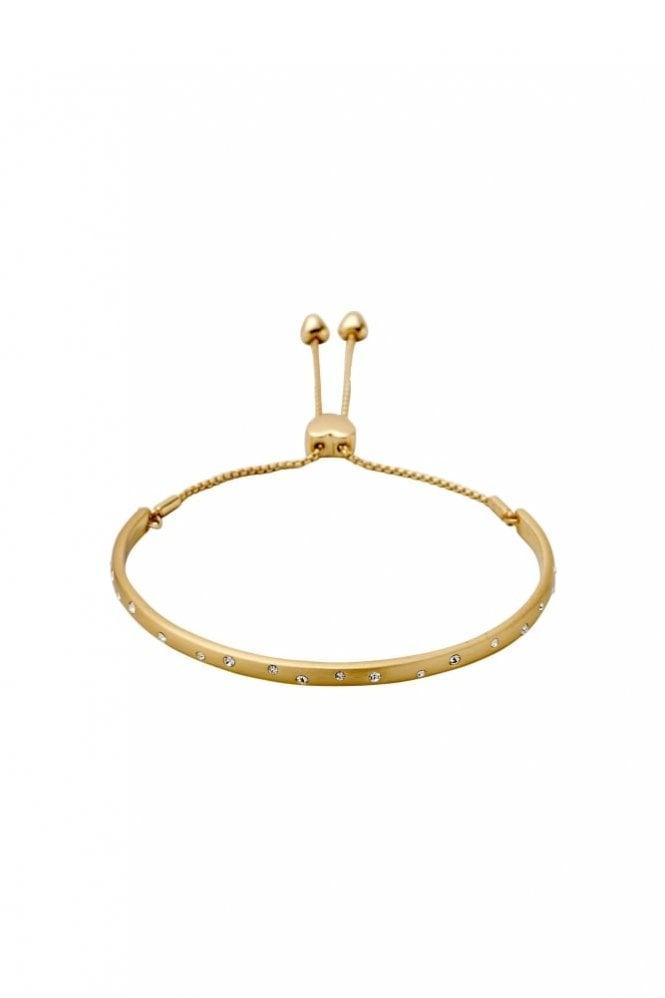 Pilgrim Hannah Gold Plated Crystal Bracelet