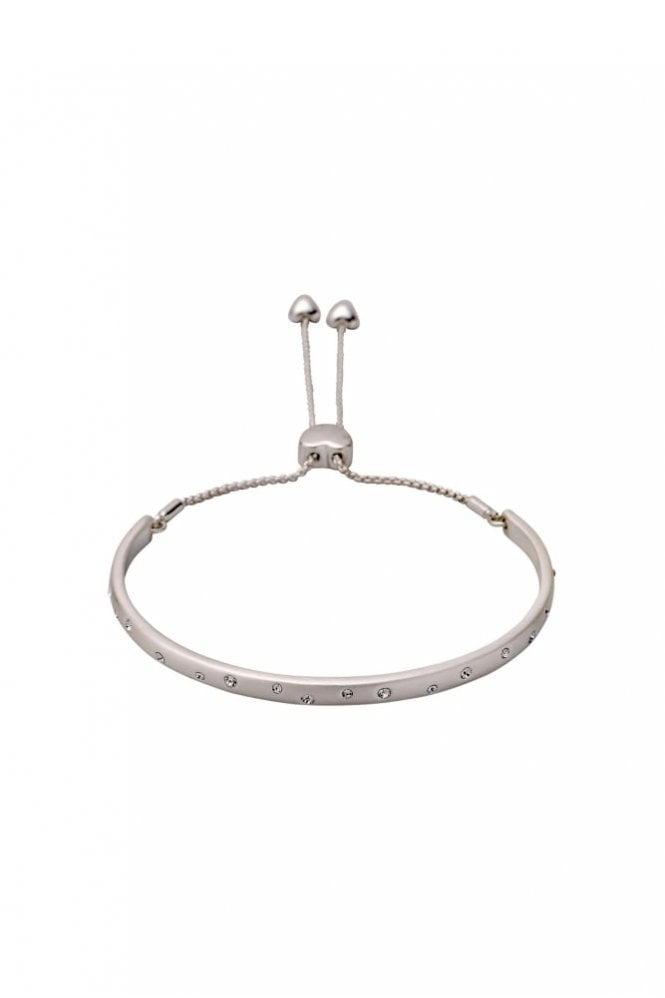 Pilgrim Hannah Silver Plated Crystal Bracelet