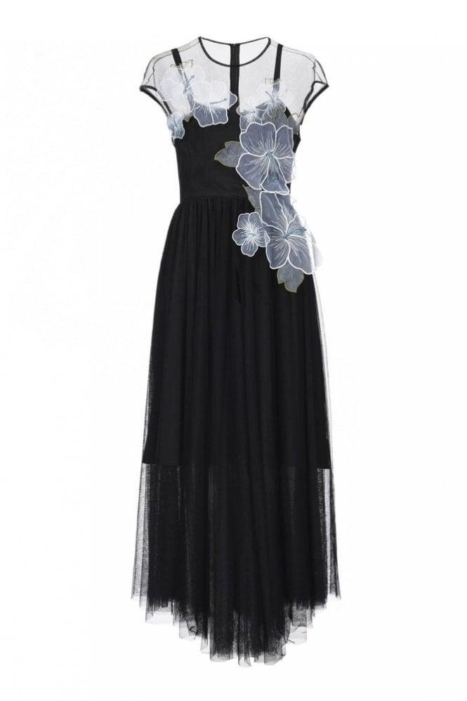 Pinko Tulle Evening Dress