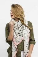 POM Amsterdam Amsterdam Bicycles Scarf in White