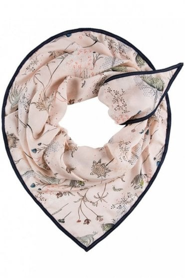 Botanical Garden Scarf in Rose