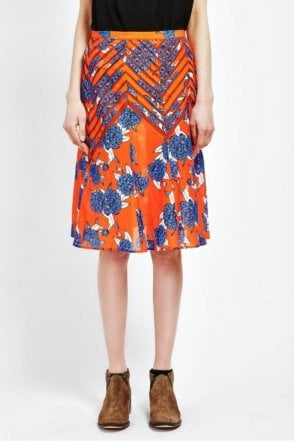 Tangle Skirt in Floria Print